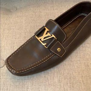 Men's Louis Vuitton Leather Loafer